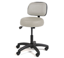 Hill pneumatic matching exam stool with back